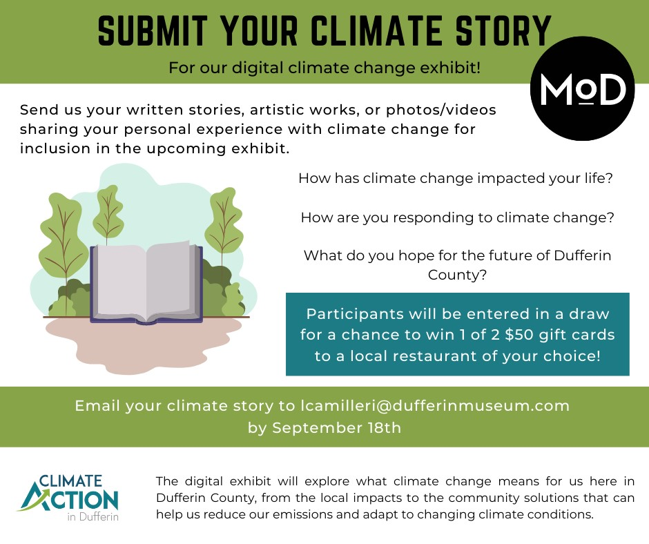 Climate Action Story Poster