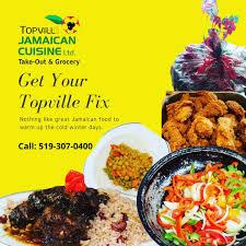 Topville Jamaican Cuisine logo