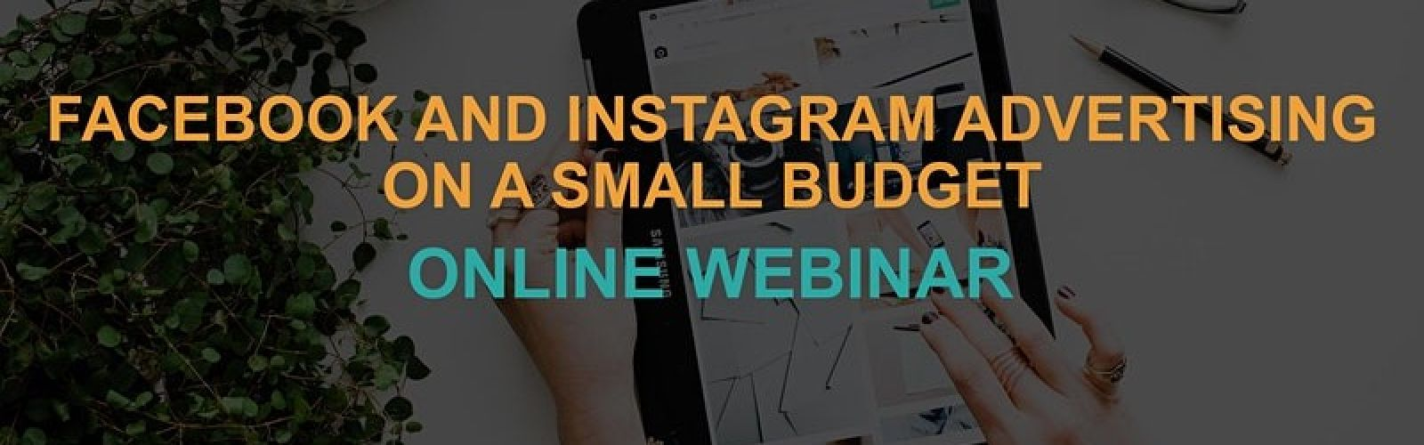 Facebook and Instagram Advertising on a Small Budget: