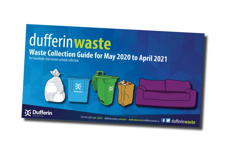 Cover of 2020 Waste Guide