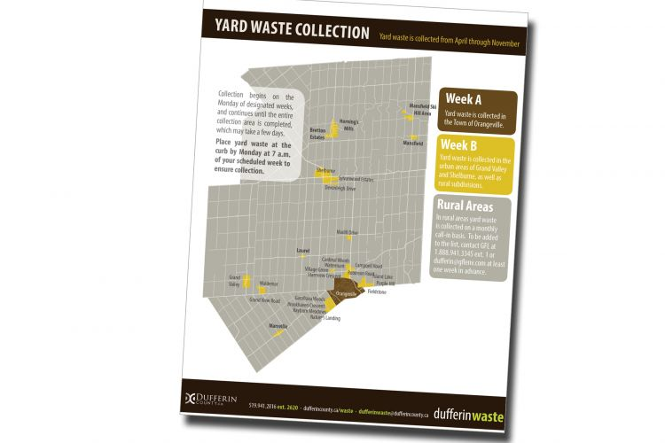Yard Waste Collection Areas